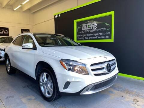 2015 Mercedes-Benz GLA for sale at GCR MOTORSPORTS in Hollywood FL