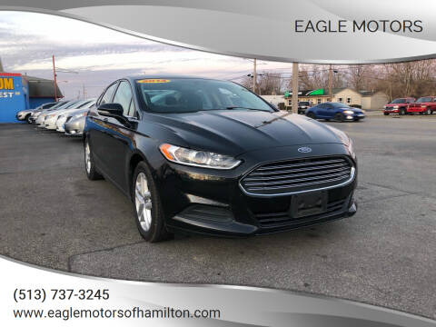 2014 Ford Fusion for sale at Eagle Motors in Hamilton OH