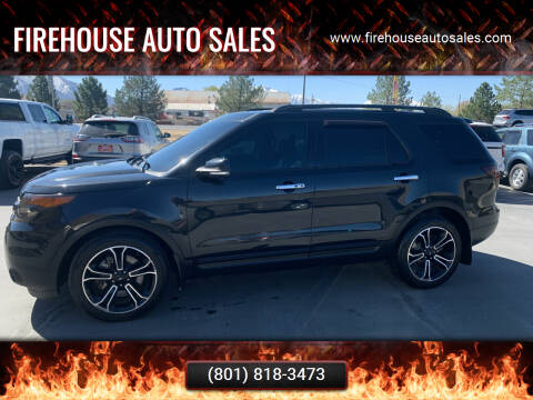 2014 Ford Explorer for sale at Firehouse Auto Sales in Springville UT