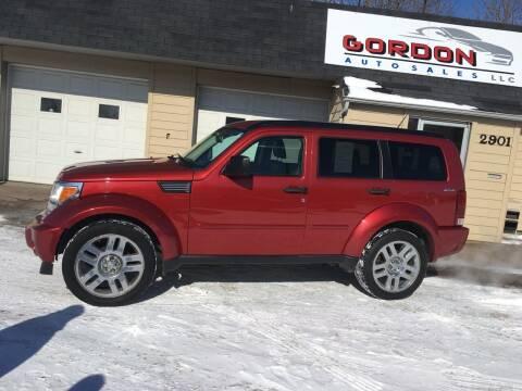 2009 Dodge Nitro for sale at Gordon Auto Sales LLC in Sioux City IA