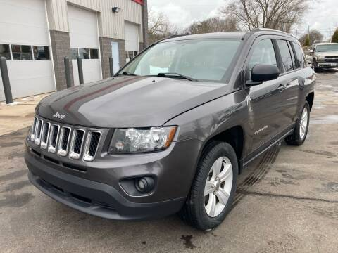 2016 Jeep Compass for sale at RABIDEAU'S AUTO MART in Green Bay WI