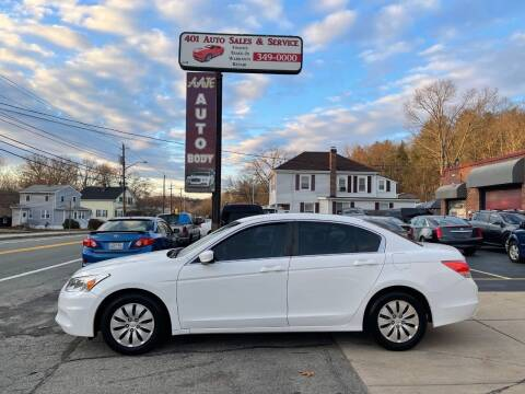 2012 Honda Accord for sale at 401 Auto Sales & Service in Smithfield RI