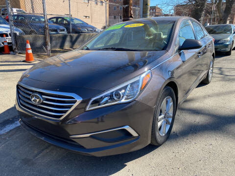 2016 Hyundai Sonata for sale at DEALS ON WHEELS in Newark NJ