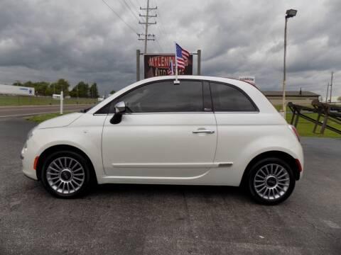 2015 FIAT 500c for sale at MYLENBUSCH AUTO SOURCE in O` Fallon MO