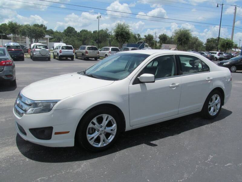 2012 Ford Fusion for sale at Blue Book Cars in Sanford FL