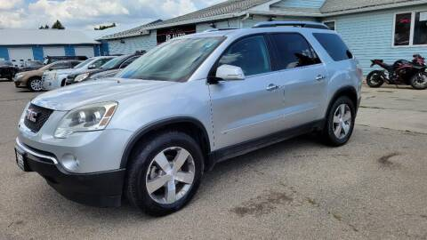 2009 GMC Acadia for sale at JR Auto in Brookings SD