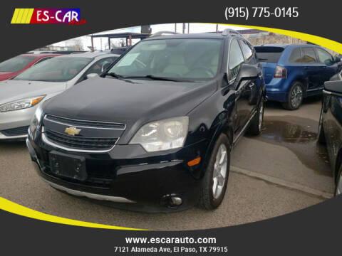 2015 Chevrolet Captiva Sport for sale at Escar Auto in El Paso TX