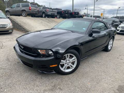 2012 Ford Mustang for sale at Philip Motors Inc in Snellville GA