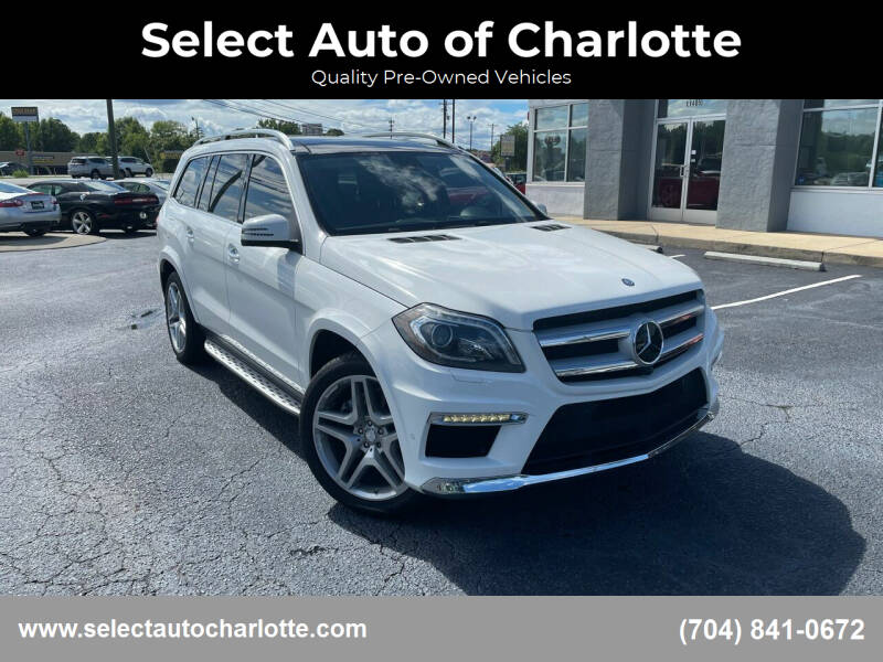 2015 Mercedes-Benz GL-Class for sale at Select Auto of Charlotte in Matthews NC