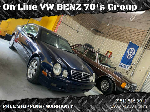 2002 Mercedes-Benz CLK for sale at On Line VW BENZ 70's Group in Warehouse CA