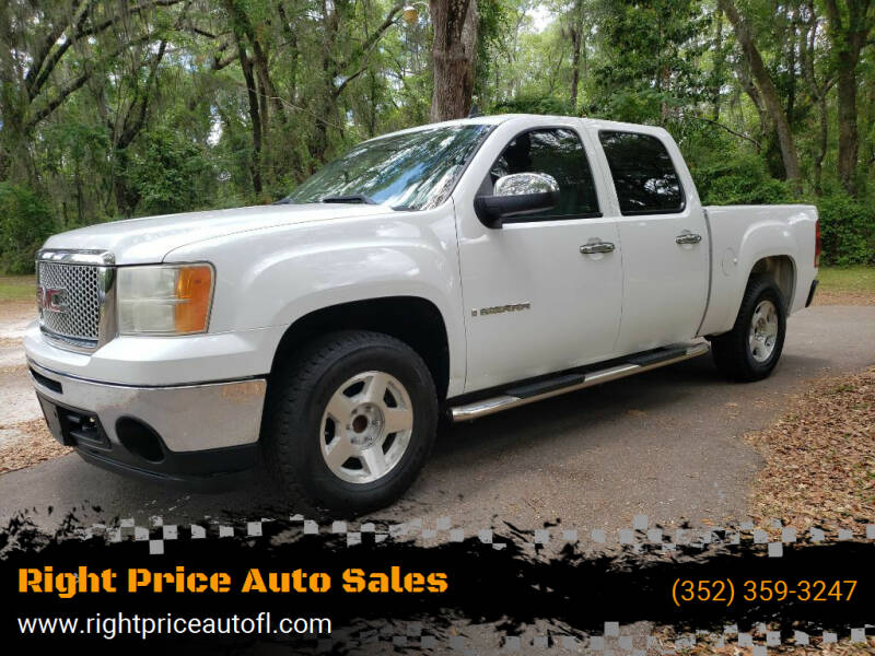 2009 GMC Sierra 1500 for sale at Right Price Auto Sales-Gainesville in Gainesville FL