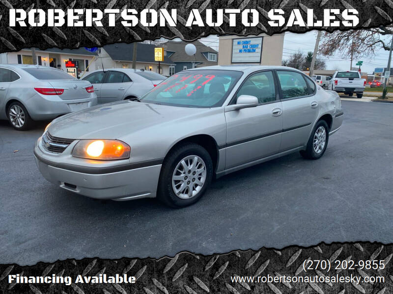 2005 Chevrolet Impala for sale at ROBERTSON AUTO SALES in Bowling Green KY