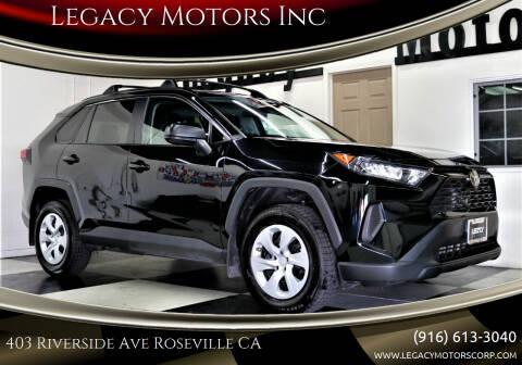 2020 Toyota RAV4 for sale at Legacy Motors Inc in Roseville CA