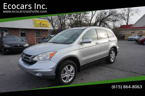 2010 Honda CR-V for sale at Ecocars Inc. in Nashville TN