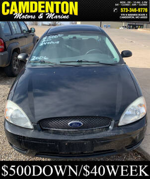 2006 Ford Taurus for sale at Camdenton Motors & Marine in Camdenton MO
