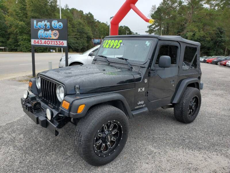 2006 Jeep Wrangler for sale at Let's Go Auto in Florence SC