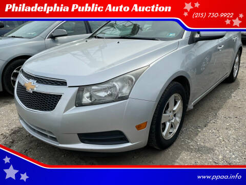 2011 Chevrolet Cruze for sale at Philadelphia Public Auto Auction in Philadelphia PA