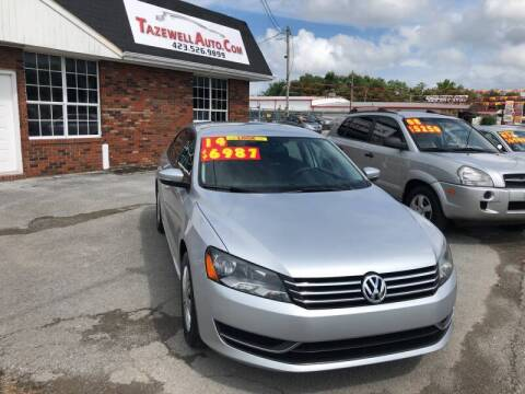 2014 Volkswagen Passat for sale at HarrogateAuto.com - tazewell auto.com in Tazewell TN