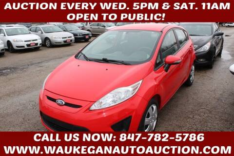 2013 Ford Fiesta for sale at Waukegan Auto Auction in Waukegan IL