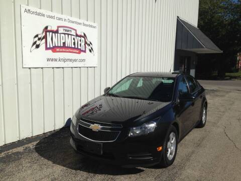 2014 Chevrolet Cruze for sale at Team Knipmeyer in Beardstown IL