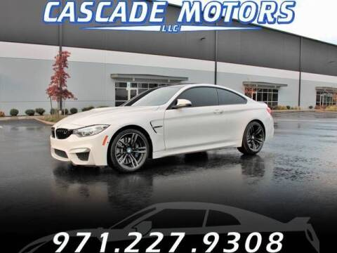 2015 BMW M4 for sale at Cascade Motors in Portland OR