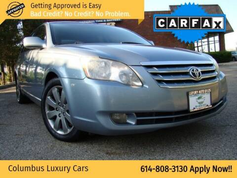 2007 Toyota Avalon for sale at Columbus Luxury Cars in Columbus OH