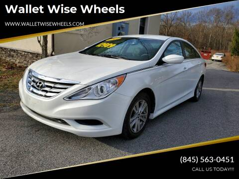 2014 Hyundai Sonata for sale at Wallet Wise Wheels in Montgomery NY