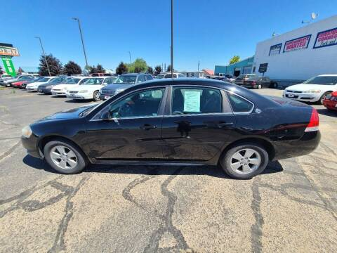 2009 Chevrolet Impala for sale at HUM MOTORS in Caldwell ID