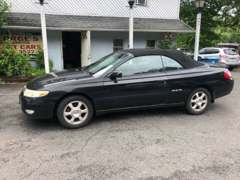 2002 Toyota Camry Solara for sale at 22nd ST Motors in Quakertown PA