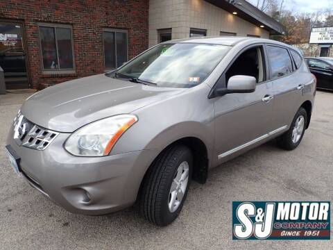 2013 Nissan Rogue for sale at S & J Motor Co Inc. in Merrimack NH