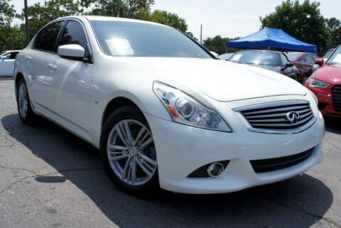 2015 Infiniti Q40 for sale at CU Carfinders in Norcross GA