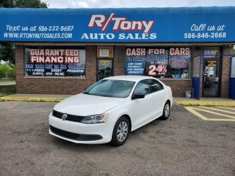 2014 Volkswagen Jetta for sale at R Tony Auto Sales in Clinton Township MI