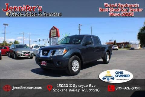 2017 Nissan Frontier for sale at Jennifer's Auto Sales in Spokane Valley WA