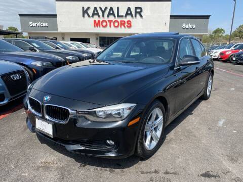 2015 BMW 3 Series for sale at KAYALAR MOTORS in Houston TX