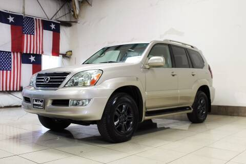 2004 Lexus GX 470 for sale at ROADSTERS AUTO in Houston TX