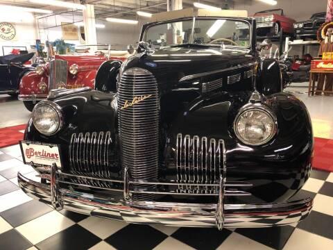 1940 Cadillac Lasalle for sale at Berliner Classic Motorcars Inc in Dania Beach FL