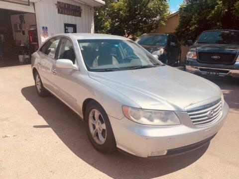 2007 Hyundai Azera for sale at Bad Credit Call Fadi in Dallas TX