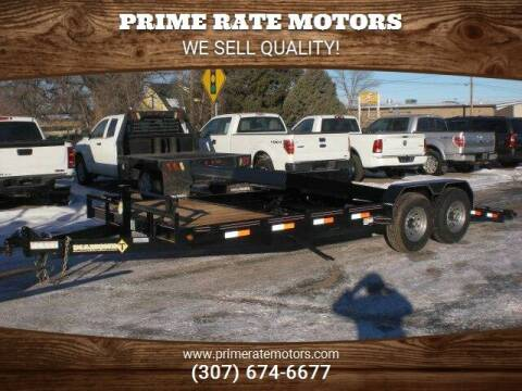2021 Diamond-T 20' Bumper Pull Tilt Bed for sale at PRIME RATE MOTORS in Sheridan WY