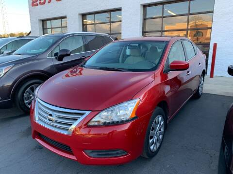 2014 Nissan Sentra for sale at Auto Sports in Hickory NC