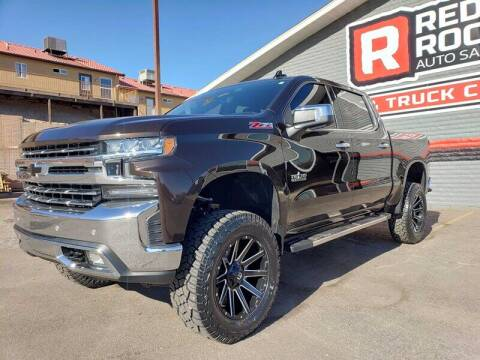 2019 Chevrolet Silverado 1500 for sale at Red Rock Auto Sales in Saint George UT