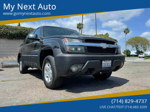 2003 Chevrolet Avalanche for sale at My Next Auto in Anaheim CA