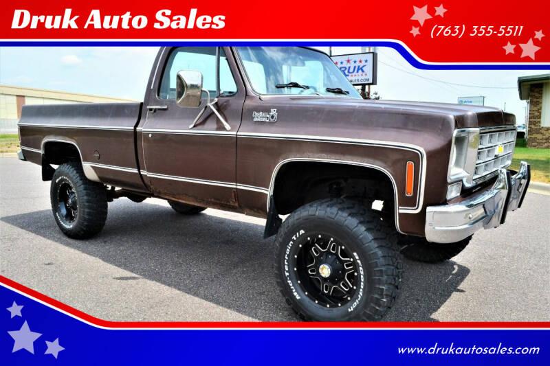 1978 Chevrolet Custom Deluxe for sale at Druk Auto Sales in Ramsey MN