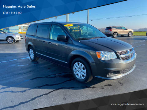 2017 Dodge Grand Caravan for sale at Huggins Auto Sales in Hartford City IN