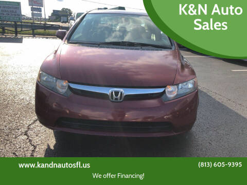 2008 Honda Civic for sale at K&N Auto Sales in Tampa FL