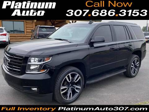 2018 Chevrolet Tahoe for sale at Platinum Auto in Gillette WY