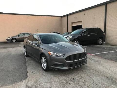 2014 Ford Fusion for sale at Reliable Auto Sales in Plano TX