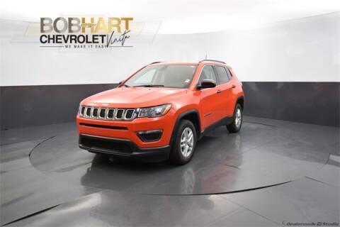 2021 Jeep Compass for sale at BOB HART CHEVROLET in Vinita OK