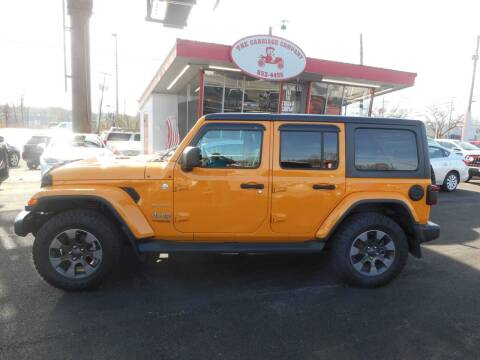2018 Jeep Wrangler Unlimited for sale at The Carriage Company in Lancaster OH