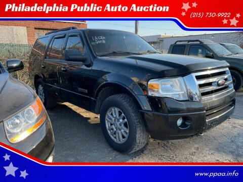 2008 Ford Expedition for sale at Philadelphia Public Auto Auction in Philadelphia PA