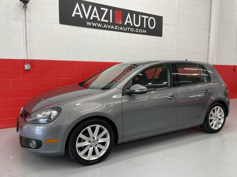 2011 Volkswagen Golf for sale at AVAZI AUTO GROUP LLC in Gaithersburg MD